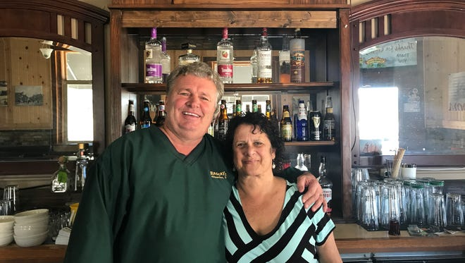 Jim Baade and Andi Shafton are new to Port Washington and hope to meet people through their new ba, Rascal's, in the former Lutzen's Saloon space at 201 W. Grand Ave.