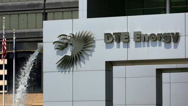 DTE's downtown headquarters in Detroit.