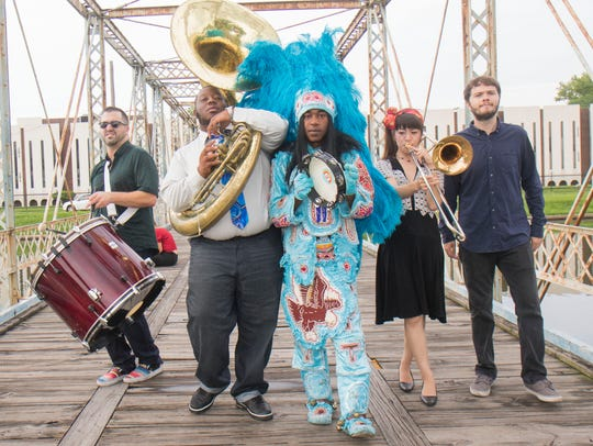 Mardi Gras Indian funk band Cha Wa will perform Friday