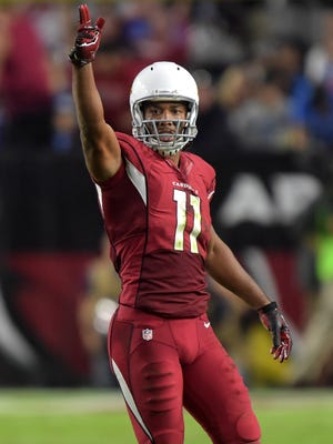 Cardinals receiver Larry Fitzgerald will be a game-time decision.