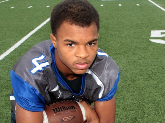 Jaylan King - 2014 All-NELA Small School Defensive Player of the Year