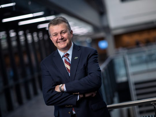 Jay Akridge, who has been agriculture dean at Purdue for nine years, was named provost.