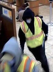 The FBI is offering a reward for information leading to the arrest and prosecution of any of the people involved in the Salinas bank robbery.