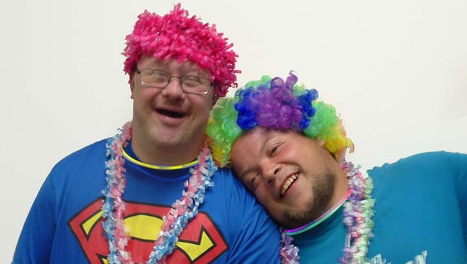 DDS will be hosting their second charity walk on Aug. 27. Pictured are Robert Boltz (left) and Josh Tice (right).