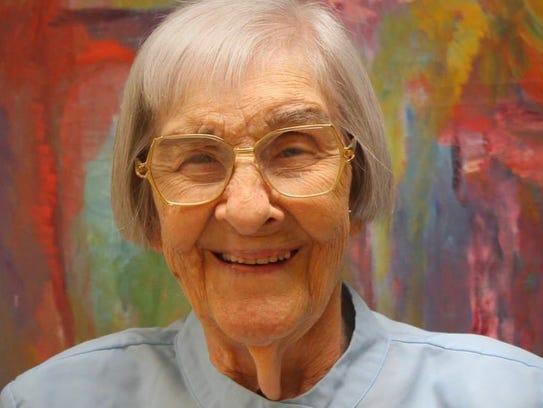 Sister Ann Linda Bell in retirement.