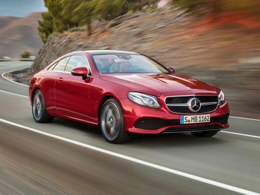 2018 Mercedes-Benz E-Class Coupe, European model