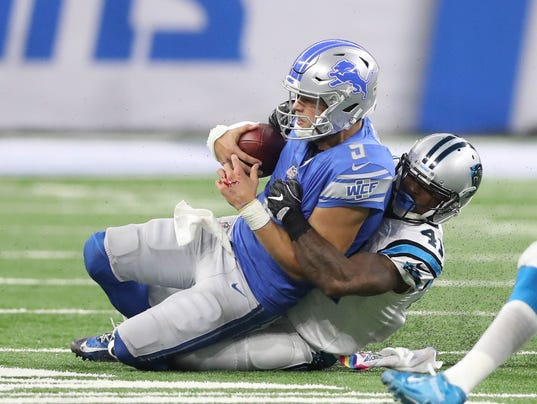 Carolina Panthers at Detroit Lions