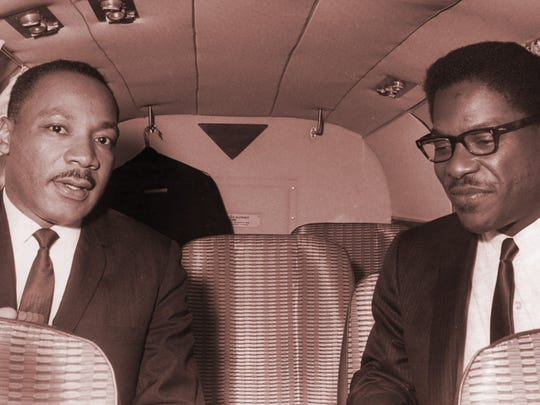 The Rev. Martin Luther King spoke in Wausau on May 12, 1967.