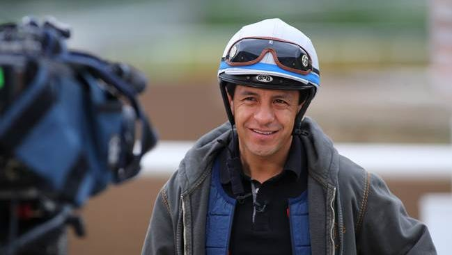 Victor Espinoza's weeks leading up to the Triple Crown have involved plenty of interviews.