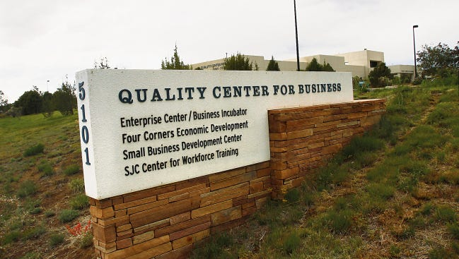The Quality Center for Business at San Juan College.
