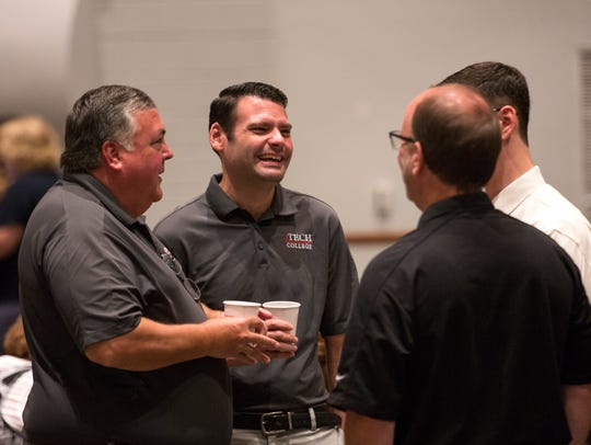 Faculty from Immokalee Technical College talk on Tuesday,