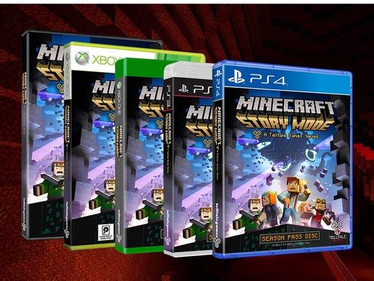 Minecraft games.
