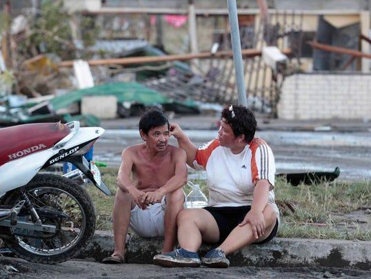 AP Philippines Typhoon