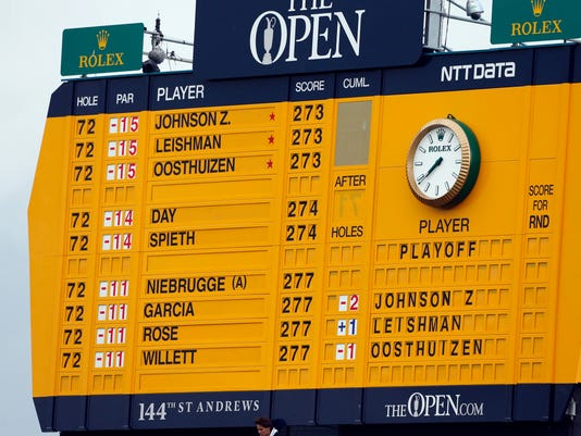 144th Open Championship-Final Round