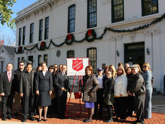 The highly visible, Red Kettle Campaign launched on