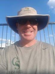 Captain Shreve coach Todd Sharp