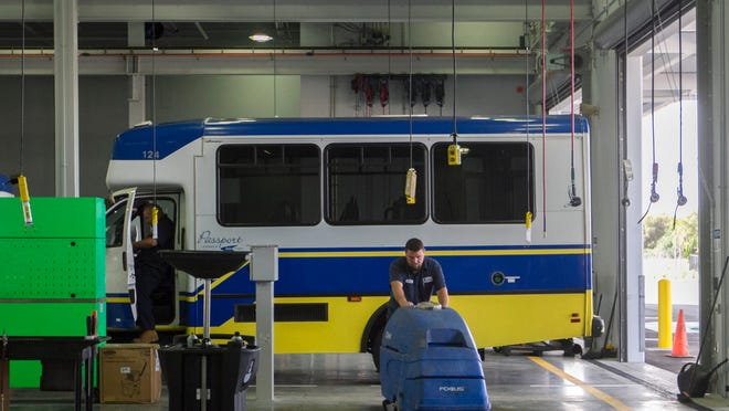 Smaller and more nimble buses would patrol residential areas of Lehigh Acres under a proposed Mobility on Demand service aimed at increasing use of public transportation by making it more convenient.