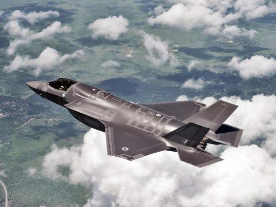 F-35 LIGHTNING II JET TO MAKE MAIDEN BRITISH FLIGHT