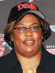 Barbara Burgess was a four-year starter at DSU from 1985 to 1989.