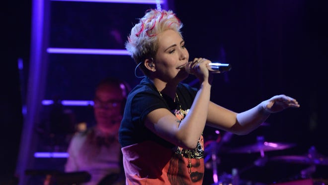 MK Nobilette performs on AMERICAN IDOL XIII airing Wednesday, March 19, on Fox.