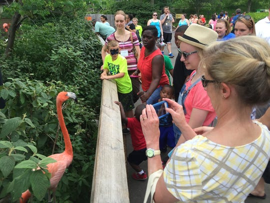 Conde Nast ranked the Indianapolis Zoo  one of the