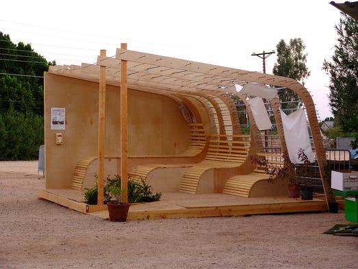 Tiny house movement showcased at Phoenixs Shemer Art Center