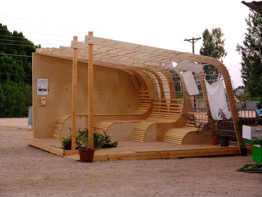 Art center showcases tiny house movement
