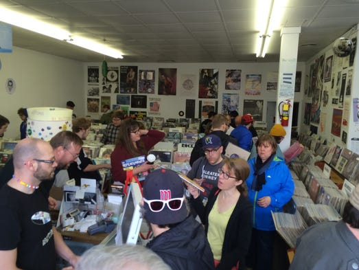Inside ZZZ Records on Record Store Day
