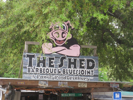 The original Shed Barbeque in Ocean Springs, Miss,