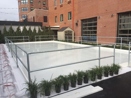 The Asbury Hotel's outdoor ice rink is scheduled to