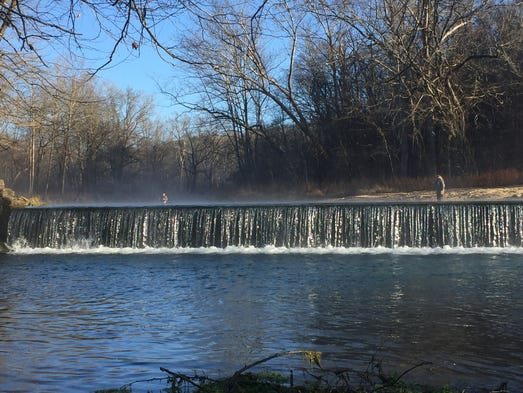 Winter Fishing Trout Run Year Round At This Mo Park
