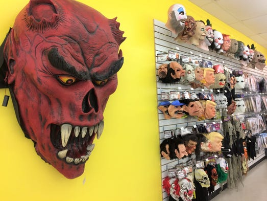 The Party Corner will carry a wide assortment of masks