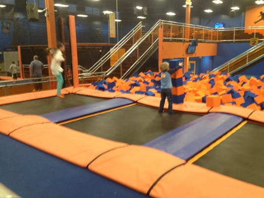 Sky Zone locations, including Lakewood, Ocean Township