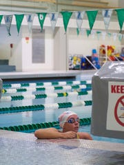 Lizzi Smith trains for the Rio Paralympics in Baltimore,