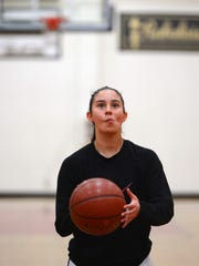 Mia Pulido has embraced being a team leader for Santa Paula while averaging 20.2 points per game.