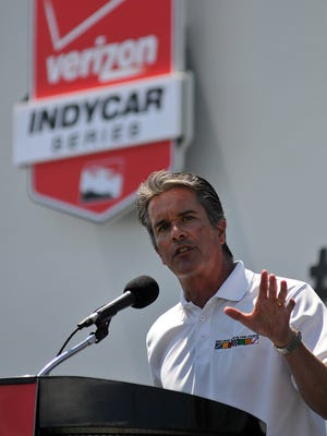 Mid-Ohio Sports Car Course President Craig Rust admits he is proud that Mid-Ohio hosts Indy Car races.