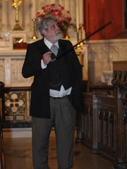 As part of the Spirits of Binghamton's Past tour, actor