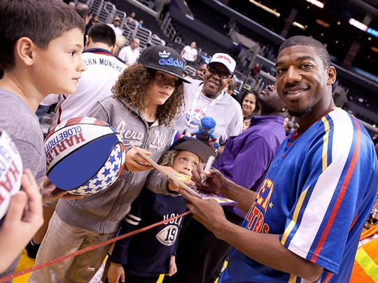 For Buckets Blakes, meeting fans off the court is just
