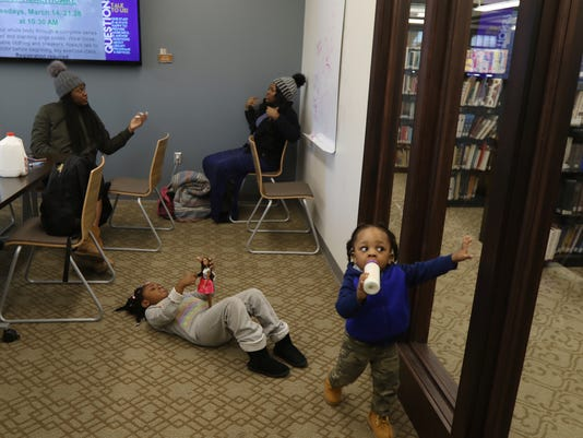 Renfords charge up at the library