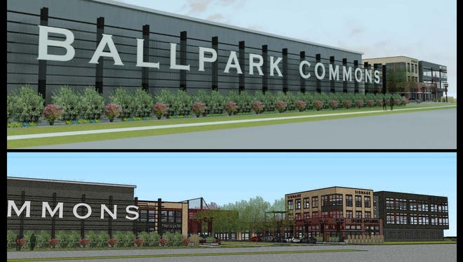 Ballpark Commons is a new sports complex proposed in Franklin by Mike Zimmerman, owner of The Rock Sports Complex.