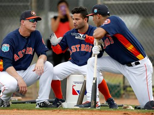 A.J. Hinch, Jose Altuve,