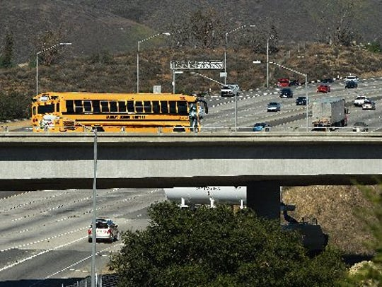 The 101 and 23 interchange.