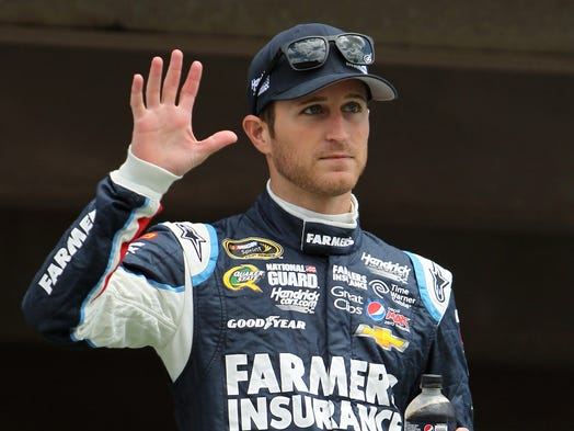 Kasey Kahne, born April 10, 1980 in Enumclaw, Wash., began his NASCAR Sprint Cup career in 2004, going on to win rookie of the year.