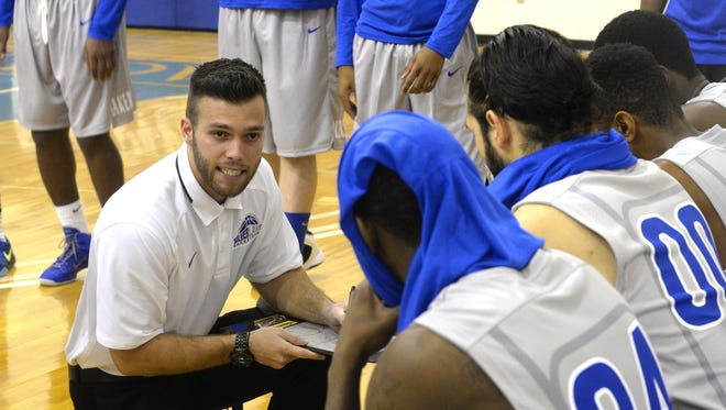 At just 23 years of age, Derek Domino is in his first year as a head coach for the Silver Lake men's program.
