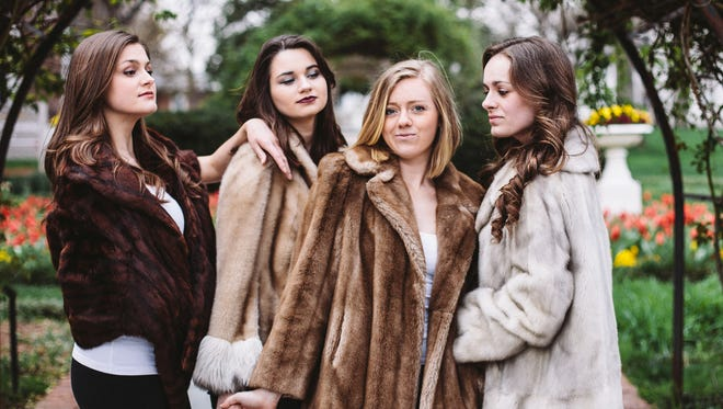 """Johnna McCarthy, Madeline Marconi,  Austin Williams and Ashley Joye perform in """"The Fairytale Lives of Russian Girls."""""""