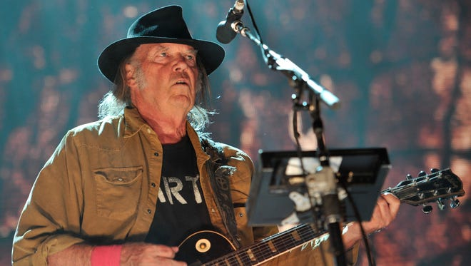 Neil Young will perform at Ascend Amphitheater on April 28.