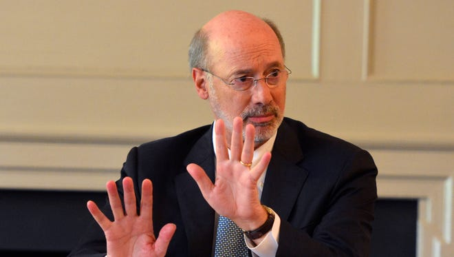 File photo of Gov. Tom Wolf.