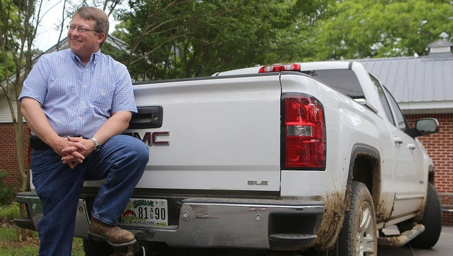 Tennessee Agriculture Commissioner Jai Templeton talks with The Jackson Sun at his McNairy County home on May 9.