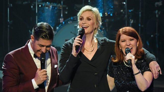 "Jane Lynch, center, in ""See Jane Sing."""