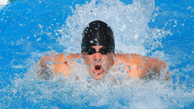 El Diamante's Callen Bruening is the 2016 All-Tulare County Boys Swimmer of the Year.